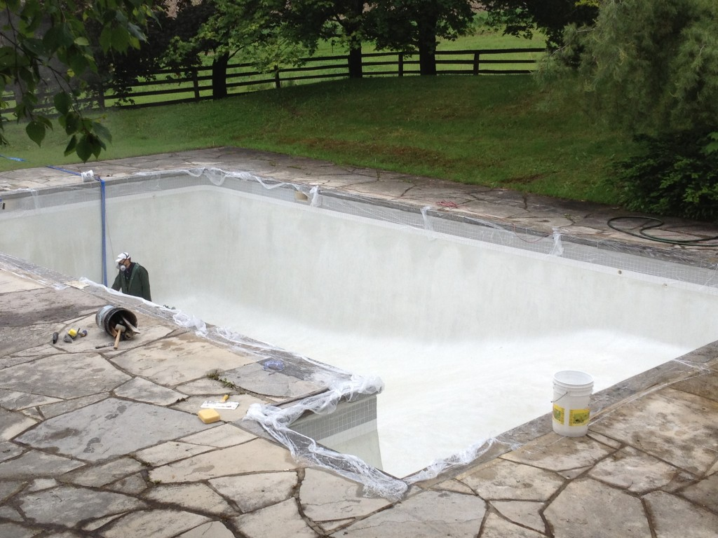 Pool renovations